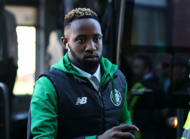Celtic forward Moussa Dembele.