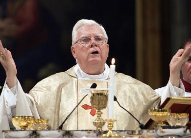 Cardinal Bernard Law.
