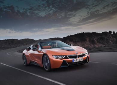 Bmw i8 hybrid supercar loses its top but keeps its cool voltagebd Images