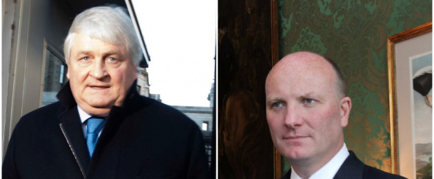 O'Brien (l) alleges Ganley (r) was part of a conspiracy against him