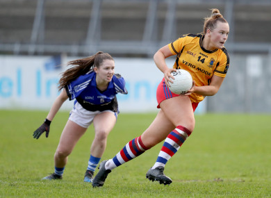 Vikki Wall starred for Dunboyne.