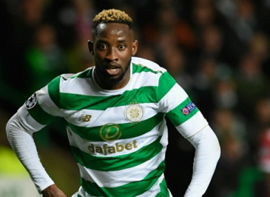 Dembele has been with Celtic since June 2016.