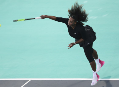 Williams knew in Abu Dhabi that she wasn't up to the level she needed to defend her title.