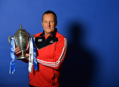 Cork hurling manager John Meyler.