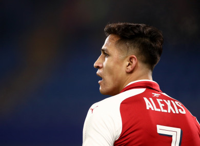 Alexis Sanchez is set to join Man United.