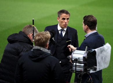 Phil Neville has moved to apologise for past remarks.