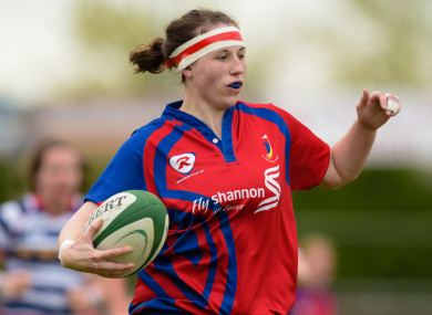 Chloe Pearse was among the try scorers for UL Bohemians.