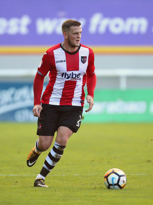 Pierce Sweeney has been a regular for promotion-chasing Exeter City this season.