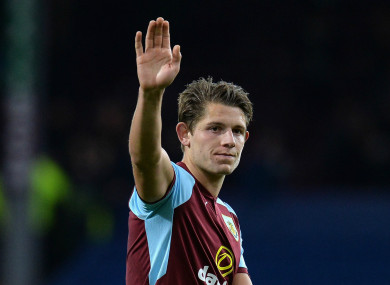 James Tarkowski has signed a new contract at Burnley.