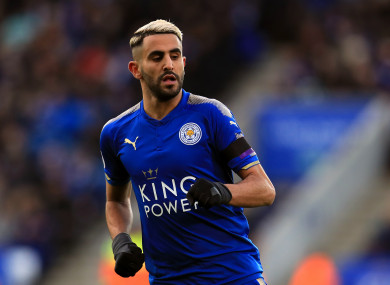 Riyad Mahrez's move to Man City fell through on Deadline Day.