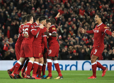 Liverpool defeated Everton in the third round.