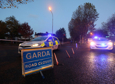Two gardaí were also injured in the incident.