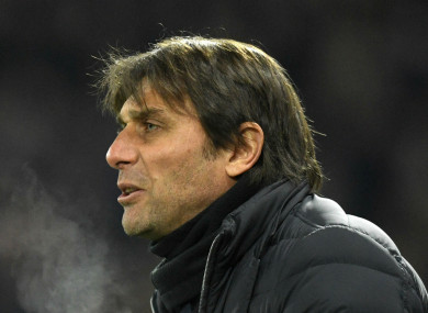 Chelsea boss Antonio Conte.