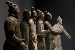 File photo. Terracotta warriors on show in London.
