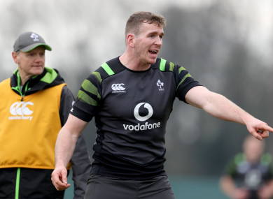 Farrell replaces Robbie Henshaw in Ireland's midfield.