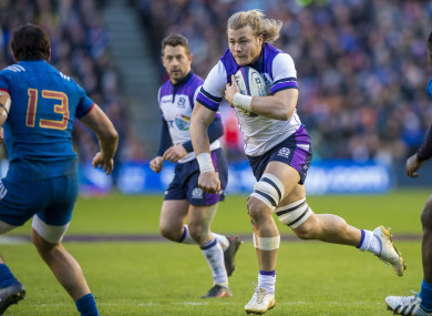 Denton is in Scotland's Six Nations squad.