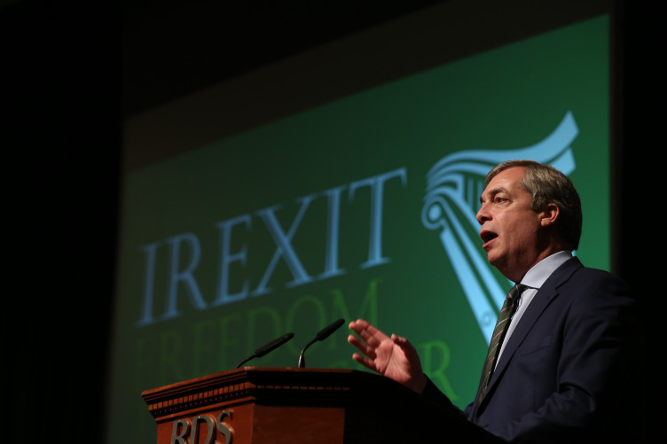 Opinion: 'A right-wing British politician like Farage has no right to  interfere in Ireland's affairs'