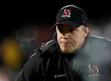 Ulster Interim Head Coach Jono Gibbes.