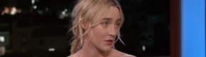 Saoirse Ronan told Jimmy Kimmel about her mam's embarrassing moment with George Clooney at the Oscars