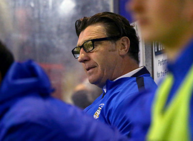 Roddy Collins has left the general manager role at Athlone Town.