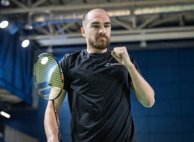 Scott Evans announced his retirement from badminton on Tuesday.