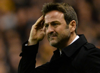 Former Leeds United manager Thomas Christiansen