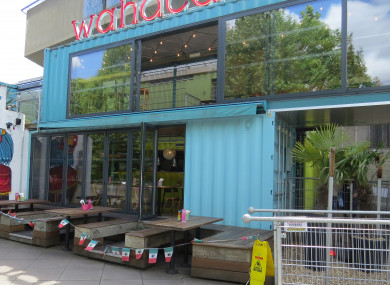 The Wahaca restaurant on London's South Bank.