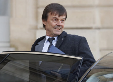 French Minister Nicolas Hulot  denies the allegations.