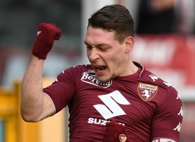Andrea Belotti (file pic).