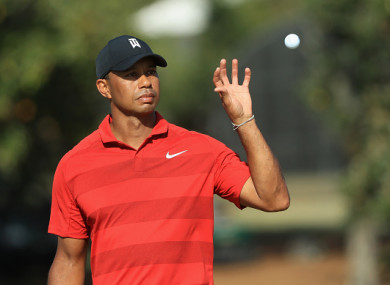 Woods in action at the Arnold Palmer Invitational over the weekend.