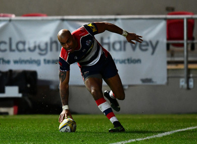 Varndell is the Premiership's all-time leading scorer with 92 tries.
