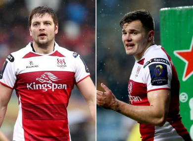 Iain Henderson and Jacob Stockdale have both been named to start against Cardiff.