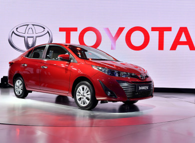 File photo. Toyota Yaris