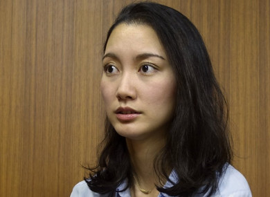 Shiori Ito, a journalist, who says was raped by a prominent TV newsman in 2015.