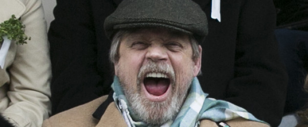 Actor Mark Hamill *really* enjoyed the St Patrick's Day parade in Dublin