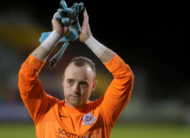 Sligo Rovers stopper Micheál Schlingermann is one of the top goalkeepers in the League of Ireland.