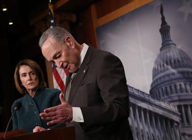 US Senate Minority Leader Chuck Schumer