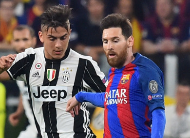 Paulo Dybala (left) and Lionel Messi will both represent Argentina at this summer's World Cup.