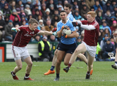 Dublin and Galway: Division 1 final set for Sunday at 4pm.