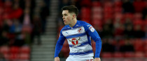 Liam Kelly in action for Reading against Sunderland in December.