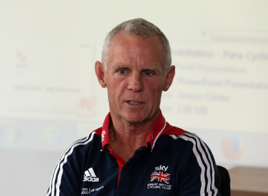 Shane Sutton (file pic).