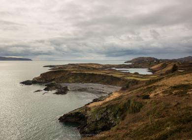 The coast of Bere Island.