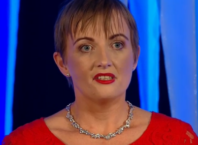 Twomey was recognised at RTÉ's People of the Year awards.