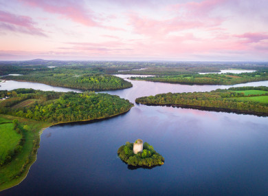 Visitors will be encouraged to interact with history and nature at places like Cloughoughter Castle, Co Cavan.