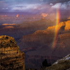 Grand Canyon just after the rain<span class=