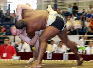 Gunning in action during the 2007 World Championships in Chiang Mai Thailand.