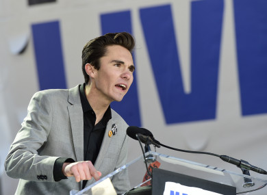 Survivor David Hogg has led a national movement calling for stricter gun laws.