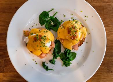 Eggs royale, anyone?