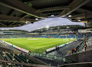 Windsor Park is the venue for tomorrow afternoon's game.