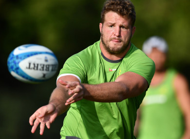 Australia prop James Slipper.